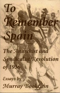 "Frontpage of the book ""To  Remember Spain"""