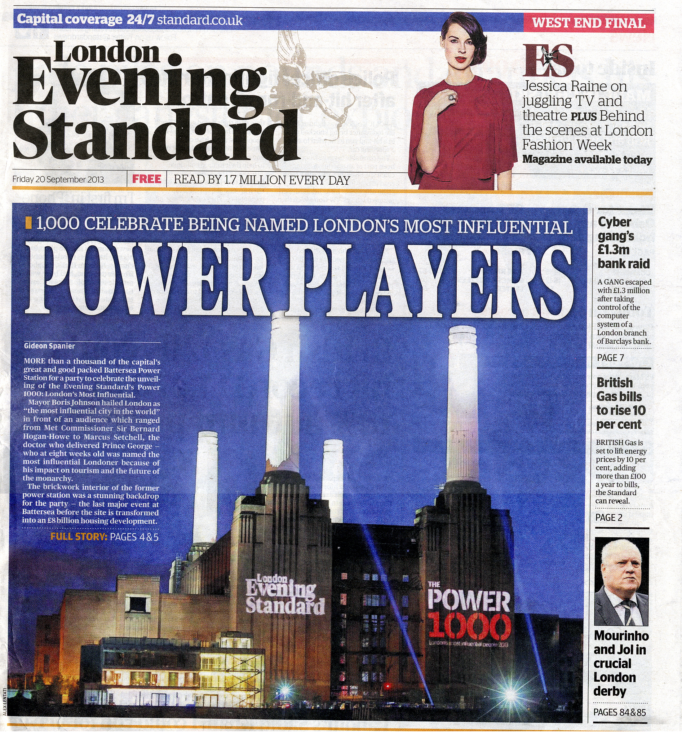 Evening Standard readership, circulation, rate card and facts