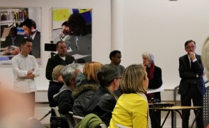 Peckham residents and business owners deliver the deputation