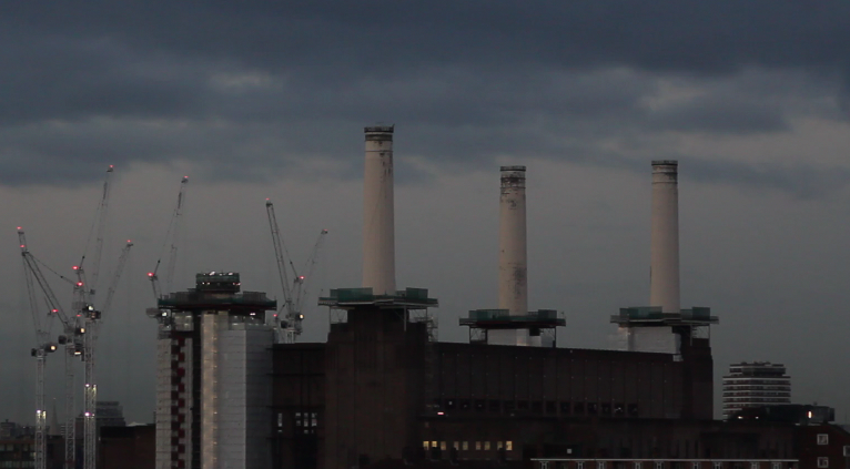 Battersea Power Station: fotografia scattata da  Spectacle il giorno 08/12/2014