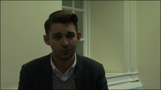 Cllr. Matthew Bennett, Labour Cabinet Member for Housing in Lambeth during an interview with Spectacle.