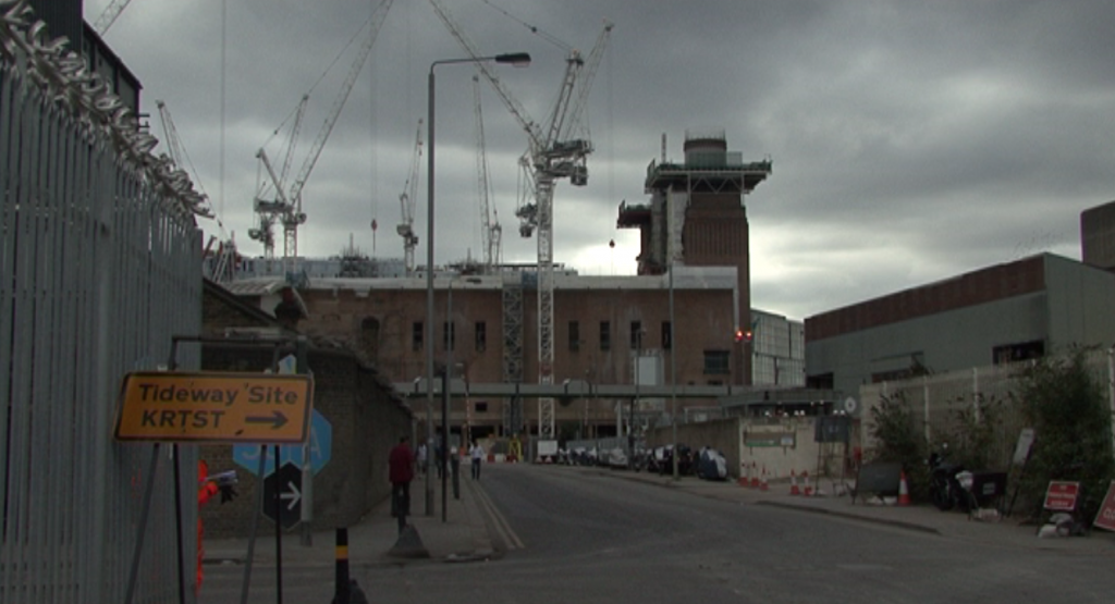 East side of the Battersea Power Station without the wall - Work in Progress...