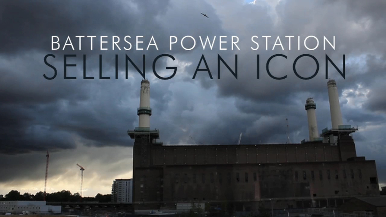 Still from Battersea Power Station: Selling an Icon